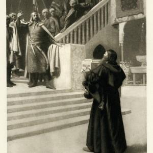 Novellino of Masuccio - Barbarossa before the Soldan